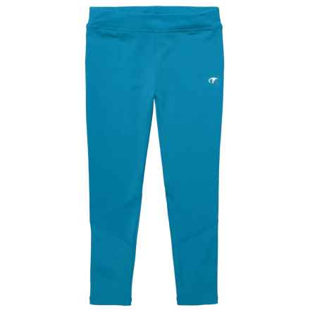 Champion Space-Dyed Leggings (For Toddler and Little Girls) in Diva Blue - Closeouts