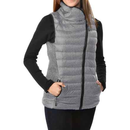 Champion Synthetic Down Vest - Insulated (For Women) in Oxford Gray Heather - Closeouts