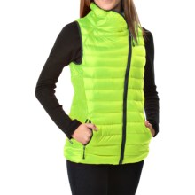 Champion Synthetic Down Vest - Insulated (For Women) in Reflector Green - Closeouts