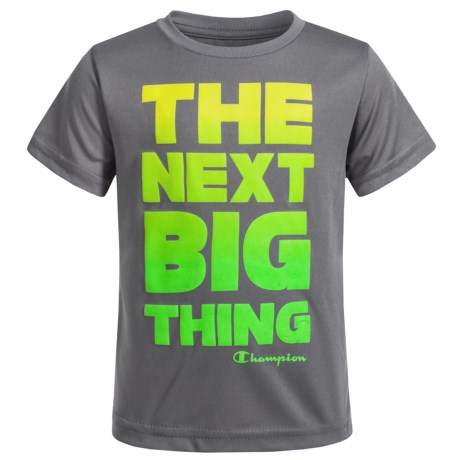 Champion The Next Big Thing T-Shirt - Short Sleeve (For Infant Boys) in Silverstone