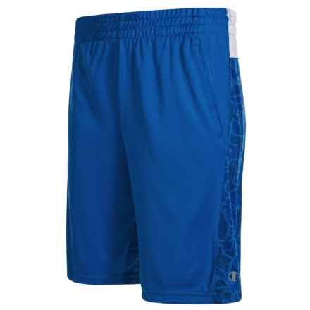 Champion The Two-Faced Shorts (For Big Boys) in Awesome Blue - Closeouts
