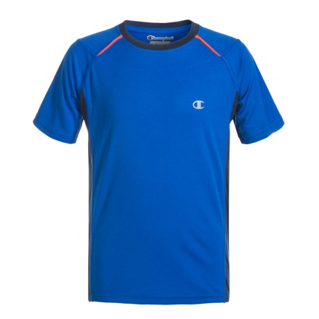 Champion The Venture Shirt - Short Sleeve (For Big Boys) in Awesome Blue