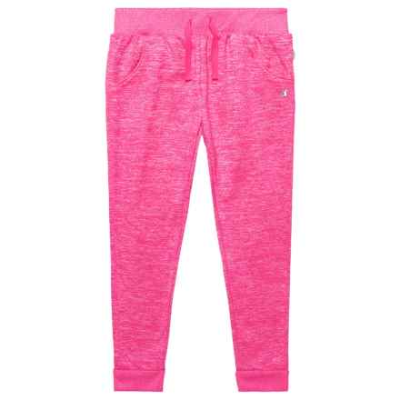 Champion Two-Color Space-Dyed Fleece Joggers (For Toddler and Little Girls) in Pink Glow Spacedye - Closeouts