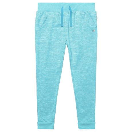 Champion Two-Color Space-Dyed Fleece Joggers (For Toddler and Little Girls) in Spacedye/Blue