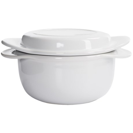 Chantal Make and Take Round Ceramic Casserole Dish with Lid