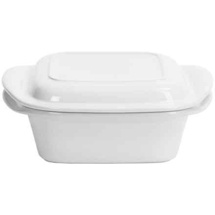 Chantal Make & Take Square Casserole Dish in White - Closeouts