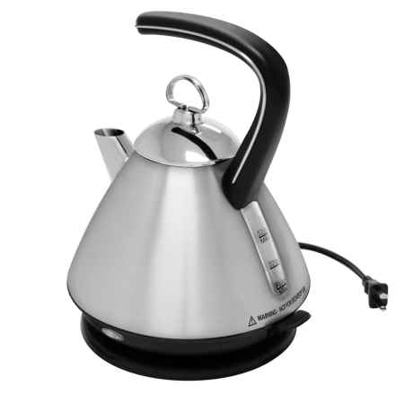 Chantal Mia Electric Tea Kettle in Stainless Steel - Closeouts