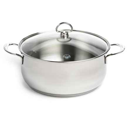 Chantal Stainless Steel Dutch Oven with Lid - 5 qt. in Polished Finish - Closeouts
