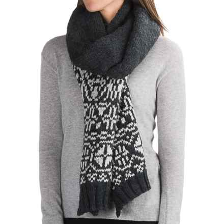 Chaos Beryl Knit Scarf (For Women) in Black - Closeouts