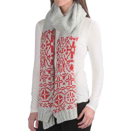 Chaos Beryl Knit Scarf (For Women) in Red - Closeouts