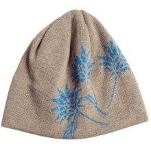 Chaos Bloom Beanie Hat (For Women) in Burlap/Celestial - Closeouts