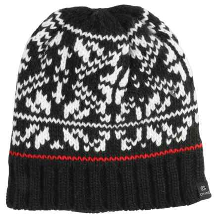 Chaos Boost Knit Beanie (For Women) in Black - Closeouts