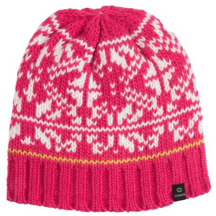 Chaos Boost Knit Beanie (For Women) in Red - Closeouts