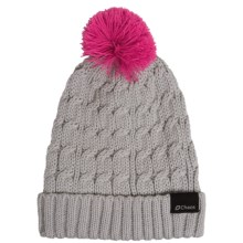 Chaos Cable-Knit Solid Hat (For Big Kids) in Grey - Closeouts