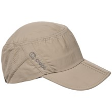 Chaos Cadet Sun Cap - UPF 50+ (For Men and Women) in Khaki - Closeouts