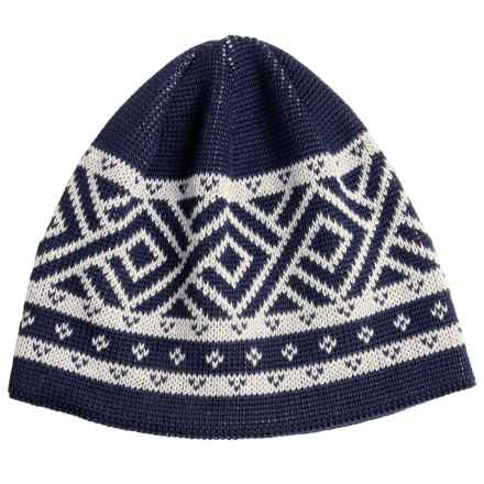 Chaos Calvin Beanie Hat - Wool Blend (For Men) in Navy - Closeouts