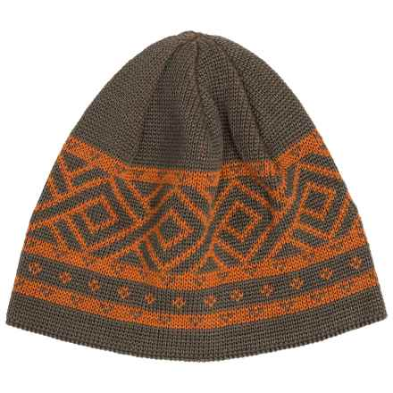 Chaos Calvin Beanie Hat - Wool Blend (For Men) in Shadow - Closeouts