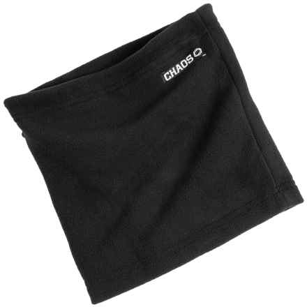 Chaos Durante Fleece Neck Gaiter (For Men and Women) in Black - Closeouts