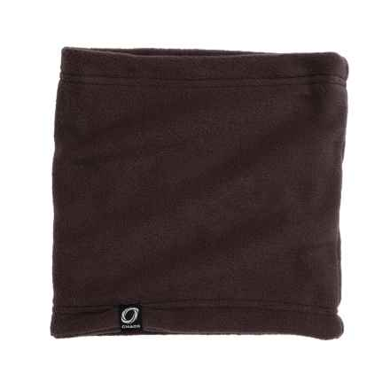 Chaos Durante Fleece Neck Gaiter (For Men and Women) in Dark Brown - Closeouts