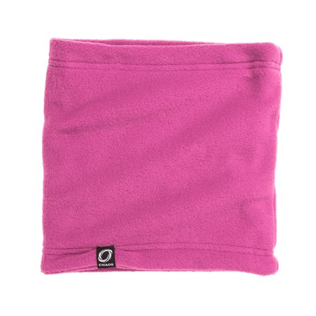 Chaos Durante Fleece Neck Gaiter (For Men and Women) in Pink Rose
