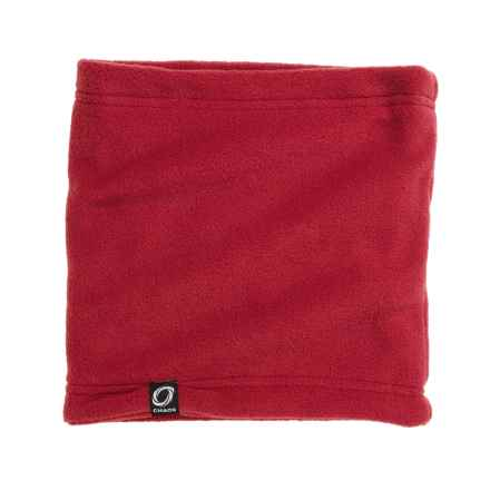 Chaos Durante Fleece Neck Gaiter (For Men and Women) in Red - Closeouts