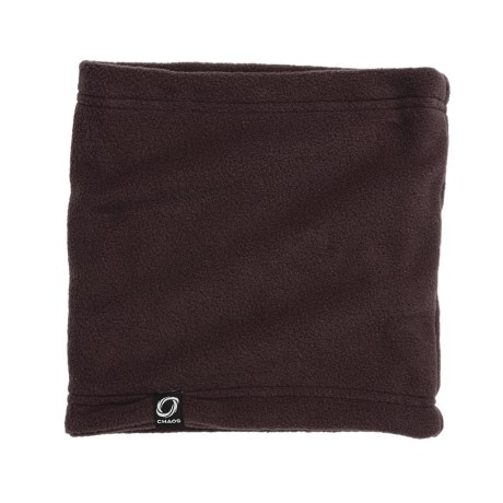 Chaos Durante Fleece Neck Gaiter (For Youth) in Brown