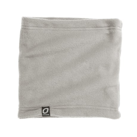 Chaos Durante Fleece Neck Gaiter (For Youth) in Heather Grey