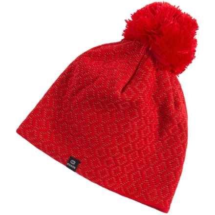 Chaos Effort Knit Beanie (For Women) in Red - Closeouts