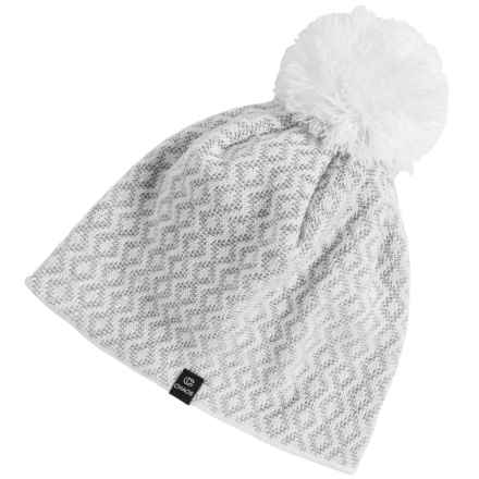 Chaos Effort Knit Beanie (For Women) in White - Closeouts