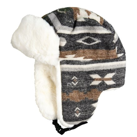 40701d3e9e0 Chaos Faux-Fur Trapper Hat (For Women) in Brown Pattern - Closeouts