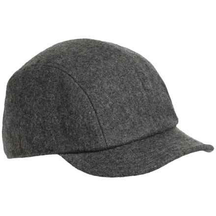 Chaos Fotch Cap - Wool Blend (For Women) in Heather Black - Closeouts