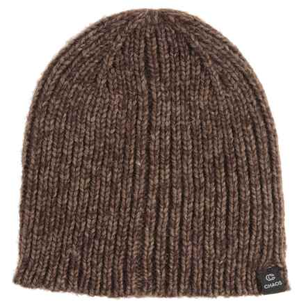 Chaos Frequency Knit Beanie (For Men and Women) in Brown - Closeouts