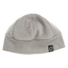 Chaos Ida Fleece Beanie Hat (For Men and Women) in Heather Grey - Closeouts
