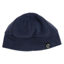 Chaos Ida Fleece Beanie Hat (For Men and Women) in Navy - Closeouts