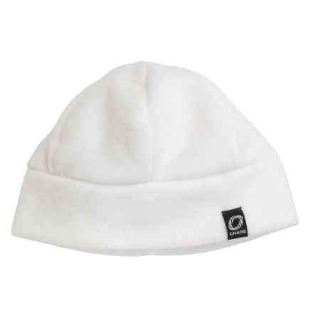 Chaos Ida Fleece Beanie Hat (For Men and Women) in Winter White - Closeouts