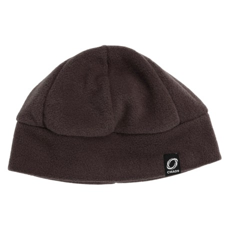 Chaos Ida Fleece Beanie Hat (For Youth) in Brown