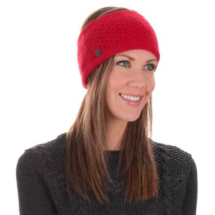 Chaos Lux Collection Kecal Ear Band - Cashmere Blend (For Women) in Red - Closeouts