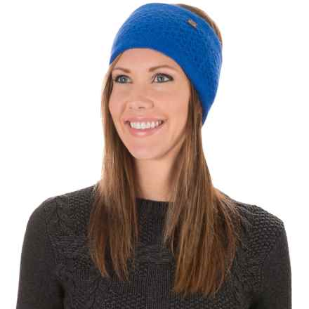 Chaos Lux Collection Kecal Ear Band - Cashmere Blend (For Women) in Royal - Closeouts