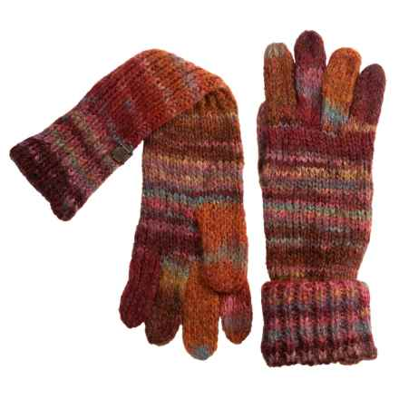 Chaos Lux Collection Knit Roxanna Gloves (For Women) in Burnt Tomato - Closeouts