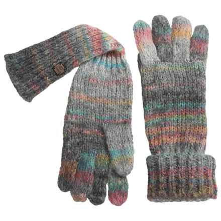 Chaos Lux Collection Knit Roxanna Gloves (For Women) in Grey - Closeouts