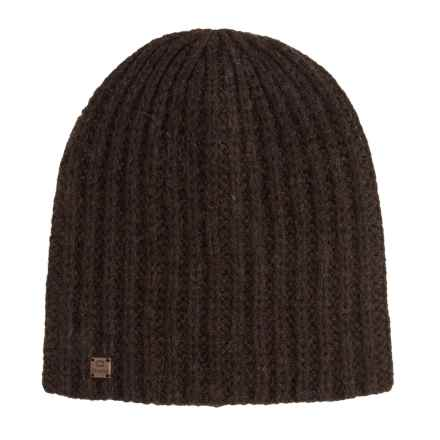 Chaos Lux Thrush Beanie - Wool (For Men and Women) in Dark Brown - Closeouts