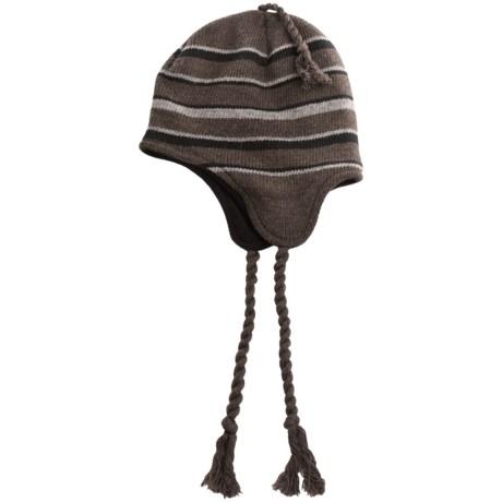 Chaos Moonshadow Hatcher Beanie Hat - Fleece Lined (For Men) in Heather Brown
