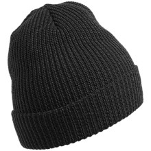 Chaos Moonshadow Stocking Cap Beanie Hat - Wool (For Men and Women) in Heather Black - Closeouts