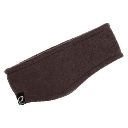 Chaos Rilla Fleece Earband (For Men and Women) in Dark Brown - Closeouts