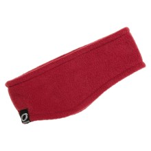 Chaos Rilla Fleece Earband (For Men and Women) in Red - Closeouts