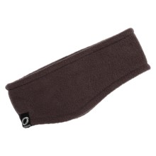 Chaos Rilla Fleece Earband (For Youth) in Brown - Closeouts