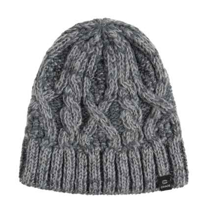 Chaos Search Beanie (For Men and Women) in Grey - Closeouts