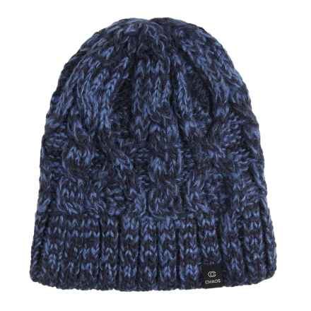 Chaos Search Beanie (For Men and Women) in Navy - Closeouts