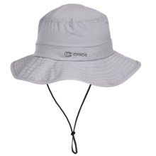 Chaos Stow-It Sun Hat - UPF 50+ (For Men and Women) in Light Grey - Closeouts