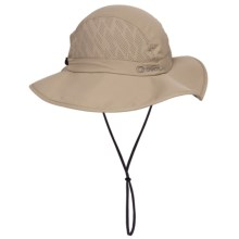 Chaos Trekking Sun Hat - UPF 50+ (For Men and Women) in Khaki - Closeouts